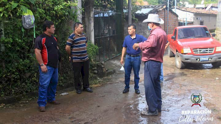 Alcaldia Municipal Realiza Mejoras en Las calles del municipio